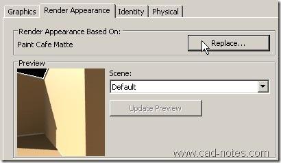 render appearance