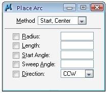 arc options