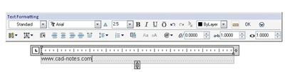 floating text toolbar