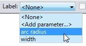 parameter list