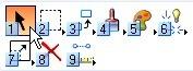 MicroStation selection tool