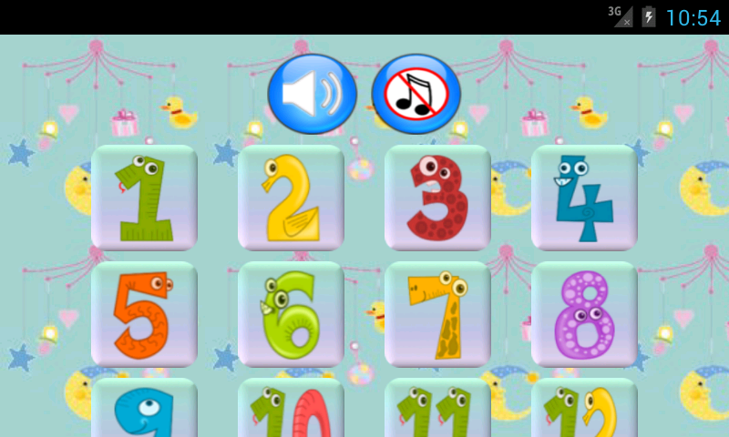 Baby games: BabyClick- screenshot