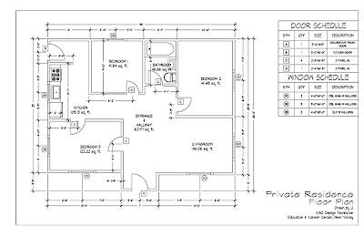 M2 4 Floor Plan Cad Fundamentals