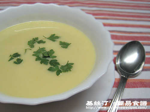 韭蔥薯蓉湯 Leek & Potato Soup