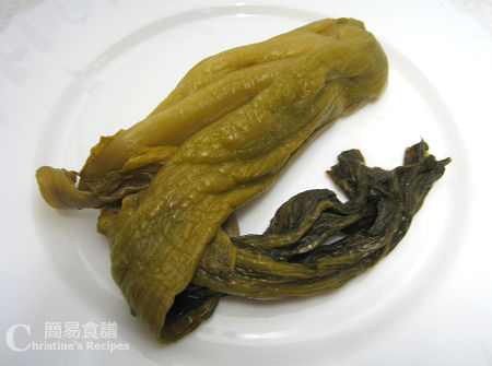 味菜 Preserved Vegetable