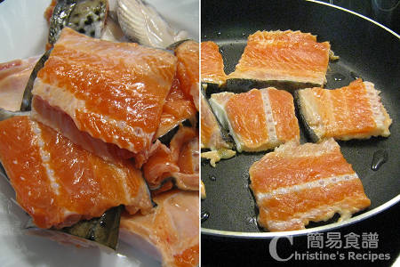 煎三文魚骨 Fried Salmon Bones