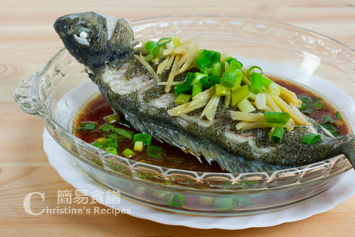 蒸鱸魚 Steamed Silver Perch02