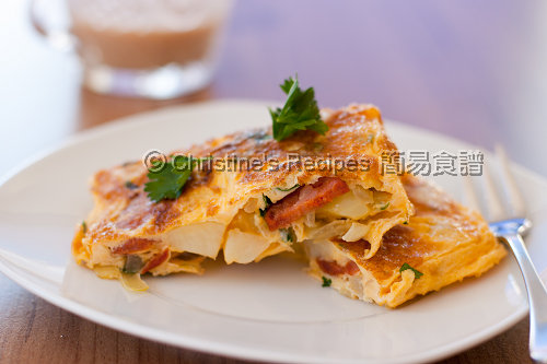 西班牙香腸蛋餅 Tortilla with Chorizo02