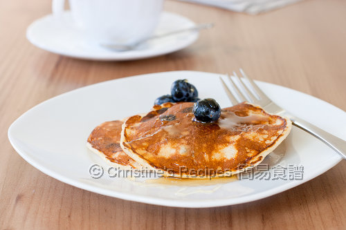 藍莓班戟 Blueberry Pancakes02