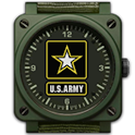 US ARMY CLOCK WIDGET logo