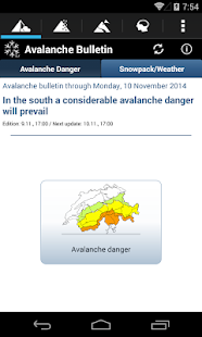 White Risk - SLF Avalanche App- screenshot thumbnail