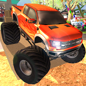 ULTIMATE MONSTER TRUCK RALLY 賽車遊戲 App Store-愛順發玩APP