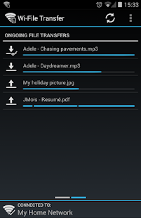 Wi-File Transfer- screenshot thumbnail