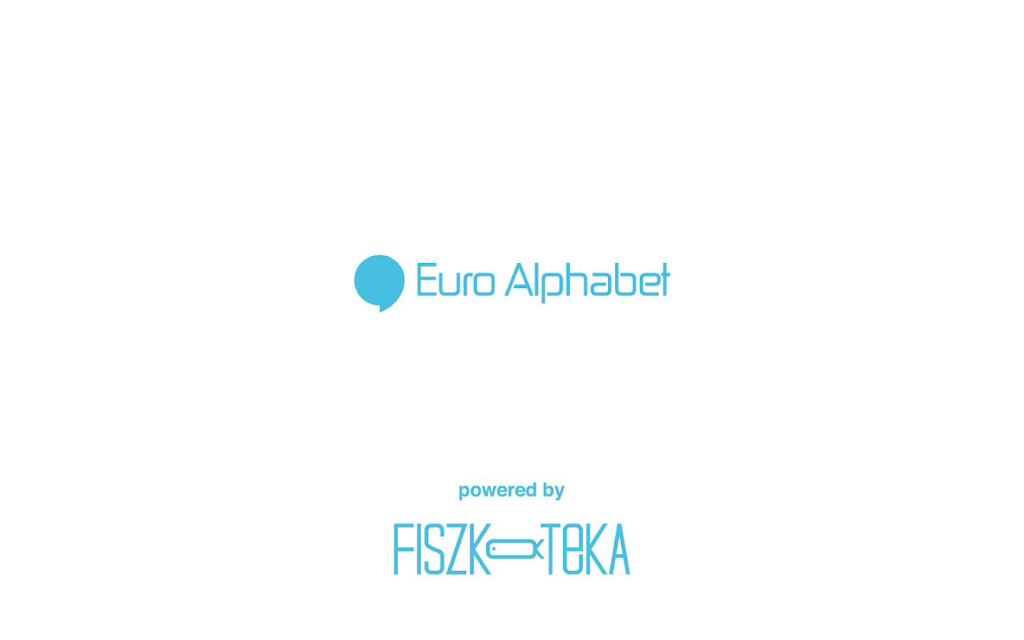 Fiszkoteka - Euro Alphabet- screenshot