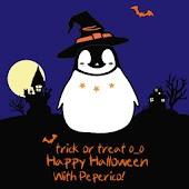 Pepe-halloween Go sms theme!