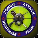 Zombie Attack Response doo-dad logo