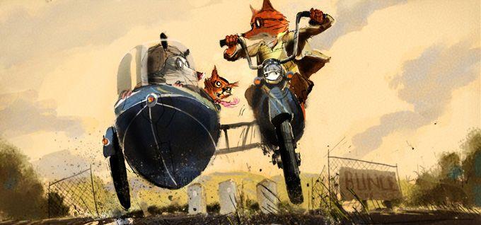 Fantastico sr. Fox concept art