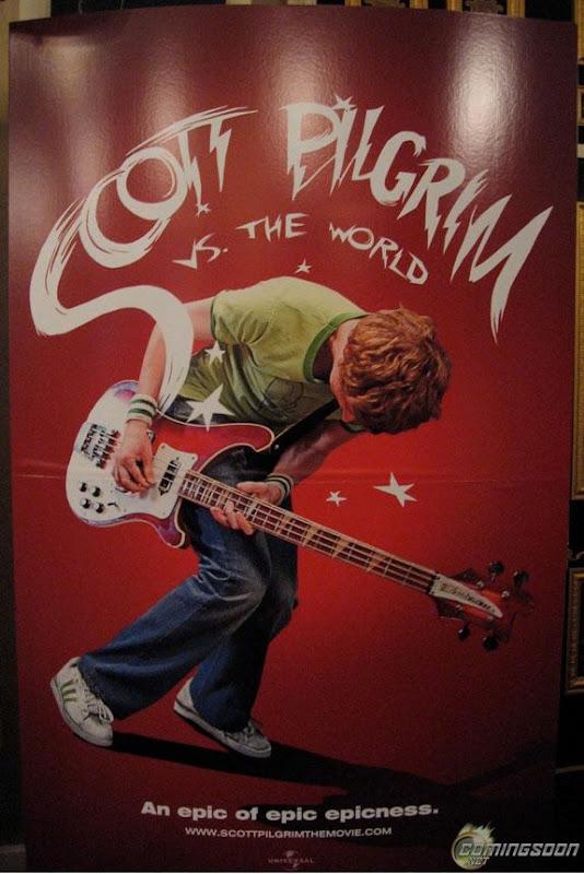 Primer póster de Scott Pilgrim vs The World