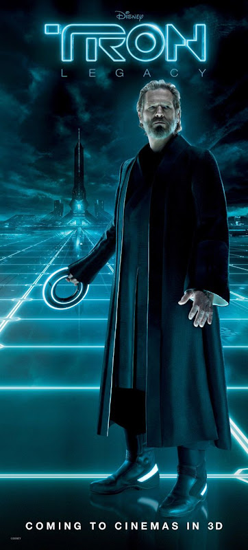 Tron Legacy con Jeff Bridges