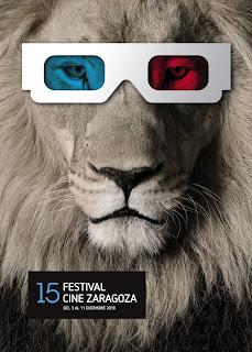 Póster 15 edición Festival de cine de Zaragoza