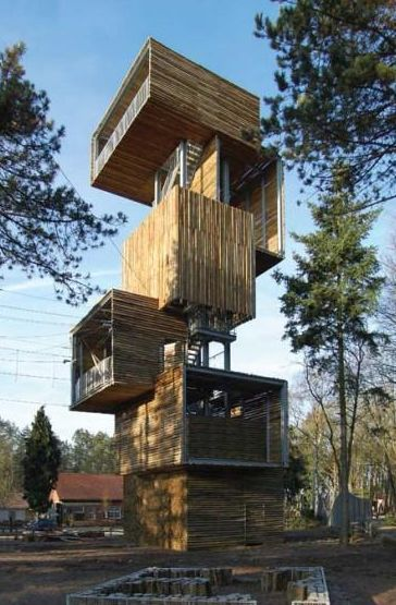 Viewing tower from Ateliereen Architecten