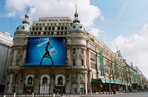 New Shape of the Luxury Shop Le Printemps