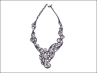 MADEO - BATUCADA JEWELLRY 229 shekels baroco_necklace_black (Small)
