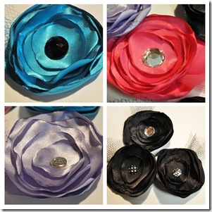 SILK FLOWER GROUPING 1