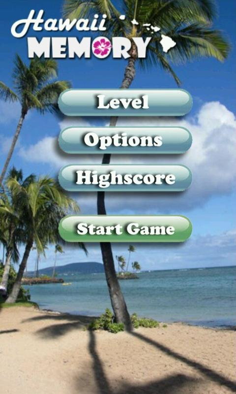 Hawaii Memory Spiel PRO – Screenshot