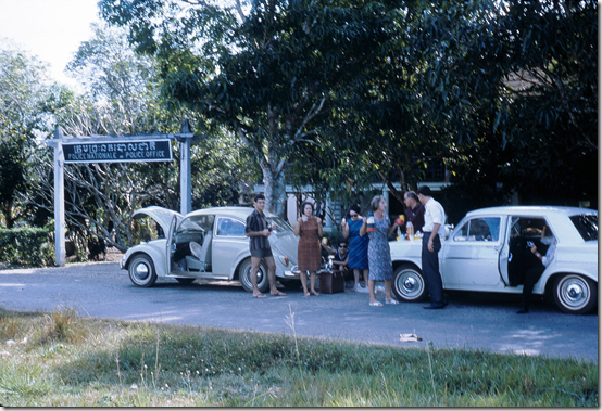 A1 Cambodia 1_1966 At border between Thailand and Cambodia cambodian side