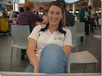 Sydney airport terminal University games 2009