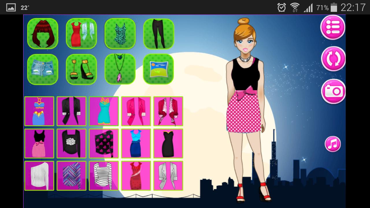 Juegos de vestir - screenshot