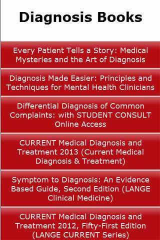 Diagnosis Books