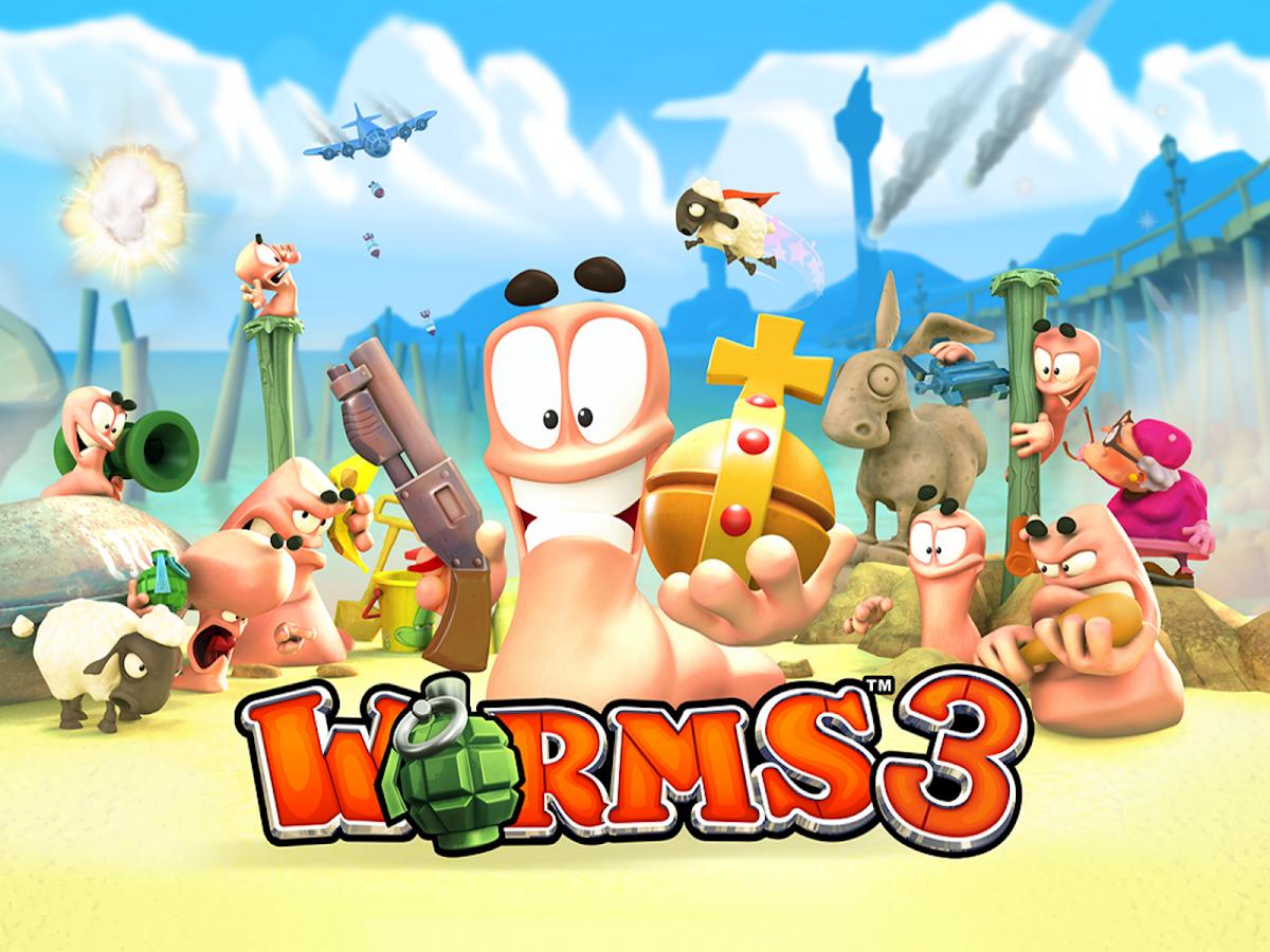 worms 3 apk