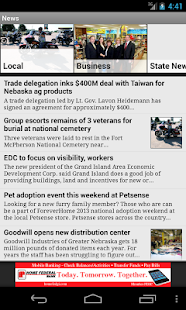 Grand Island Independent - screenshot thumbnail