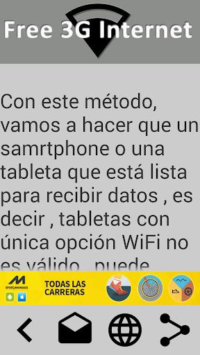 Free 3G Internet 2015