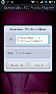 Screenshot FLV Media Player - screenshot thumbnail