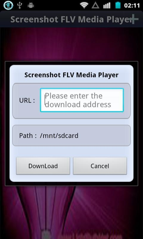 Screenshot FLV Media Player - screenshot