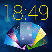 Color Clock Wallpaper Widget