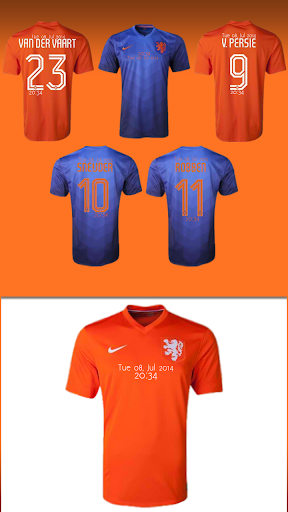 Netherlands Jersey Pack zooper