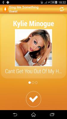Sing Me Something Lite Karaoke - screenshot