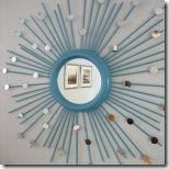 DIY καθρέφτης-ηλιαχτίδα !!