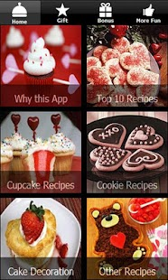 Valentines Day Recipes Cupcake - screenshot thumbnail
