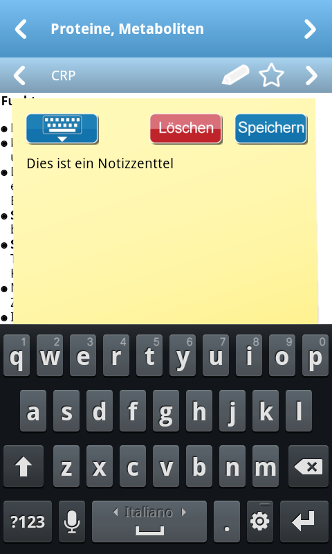 Labormedizin pocket - screenshot