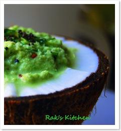 coriander coconut chutney