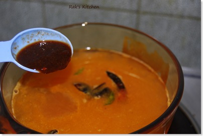 how to make tomato rasam 4