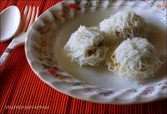 stuffed idiyappam