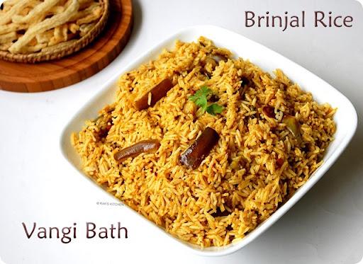 Brinjal rice, Vangi bath