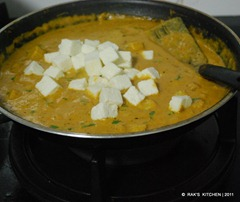 baby corn masala - with paneer