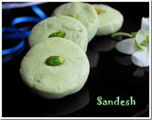 Sandesh recipe paneer dessert recipes raks kitchen with very less ingredientsyou can enjoy this yummy paneer sweet this paneer sweet recipe is so easy to forumfinder Choice Image